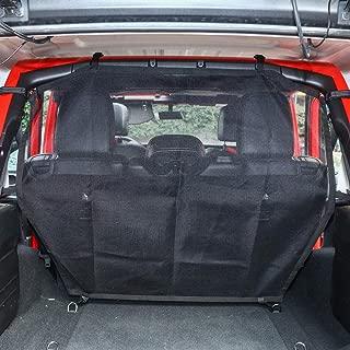 JoyTutus Fits Jeep Wrangler Pet Dog Barrier Mesh 4 Door JKU