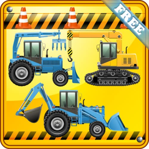 Excavadoras juegos para niños y los pequeños : descubrir