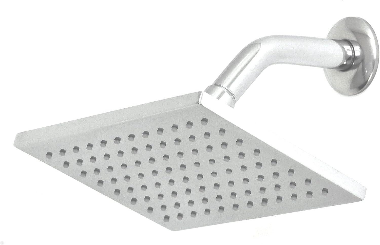 Artos Super sale period limited F907-10BN Shower Rainhead Brushed Nickel Ranking TOP4 Angled Arm