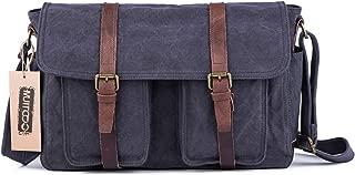 Gootium Vintage Canvas Messenger Bag - British Style Shoulder Bag