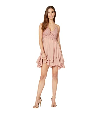 Free People Adella Slip (Rose) Women