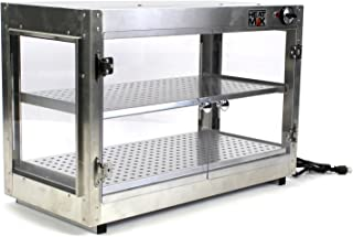 HeatMax 30x15x20 Commercial Food Warmer, Pizza, Pastry, Patty, Empanada, Catering, Concession, Fund Raising, Heated Display Case