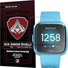 (6-Pack) Ace Armorshield Screen Protector Compatible for Fitbit Versa Lite and Fitbit Versa