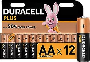 Duracell LR06 MX1500 - Plus AA, pilas alcalinas (paquete de