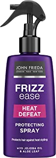 John Frieda Frizz Ease Heat Defeat Protecting Spray, 150ml - nourishes and protects hair against damage