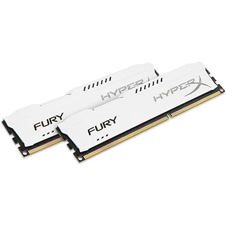 Kingston HyperX FURY 16GB Kit (2x8GB) 1866MHz DDR3 CL10 DIMM - White (HX318C10FWK2/16)