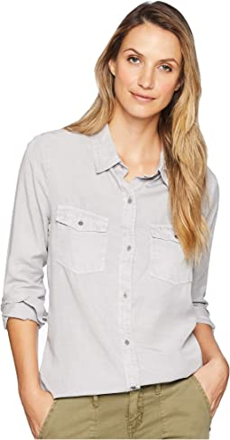 Luxe Laundered Tencel Classic Two-Pocket Shirt