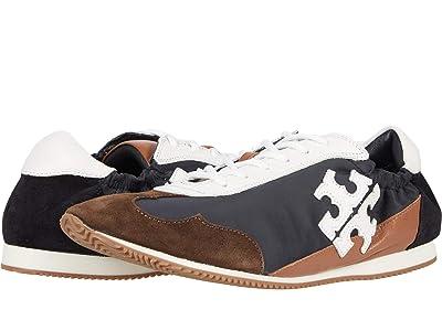 Tory Burch Tory Sneaker (Perfect Black/New Ivory/Perfect Black) Women