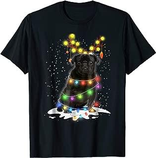 black pug t shirt