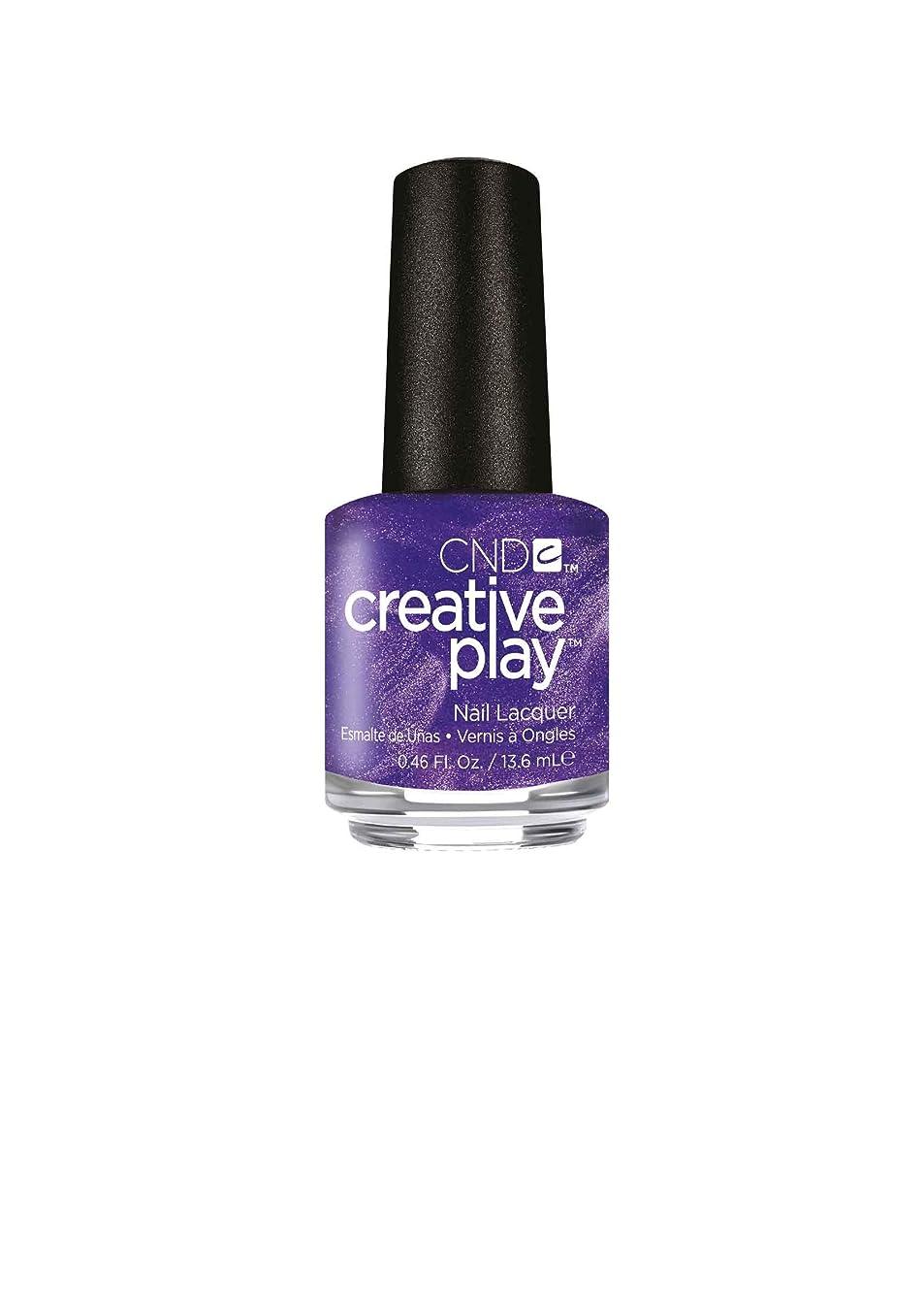 本会議川分解するCND Creative Play Lacquer - Cue the Violets - 0.46oz / 13.6ml