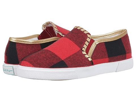 Jack Rogers Shoes Brynne, RED/BLACK