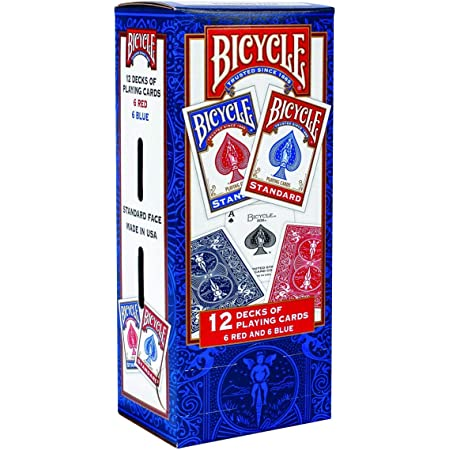 12 Random Bicycle Playing Card Decks Sealed and Brand New!!!!