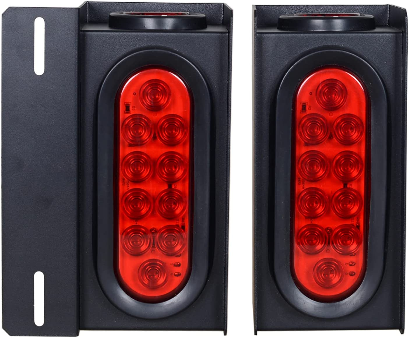 Max 63% OFF Jamarco Steel Trailer Light Boxes Housing Oval 6Inch Re Year-end gift Kit with