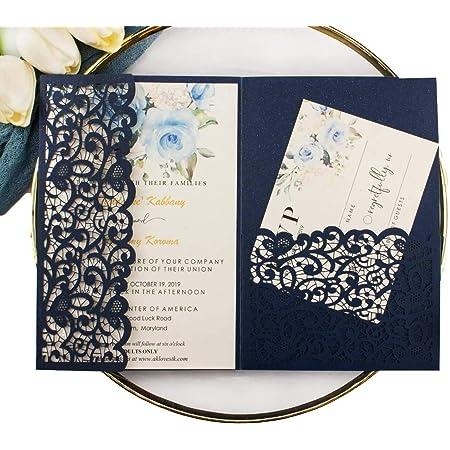 B\u00e9ryl Wreath Wedding Invitation Set Modern Calligraphy Wedding Invitation Sets Vellum Paper and Twine Square Invitations Envelopes