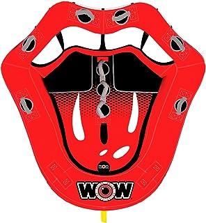 WOW World of Watersports ، 15-1100 ، لبهای داغ قابل تنظیم ، صندلی های کابین خلبان ، نقاط جلوی و پشتی ، 1 یا 2 نفر