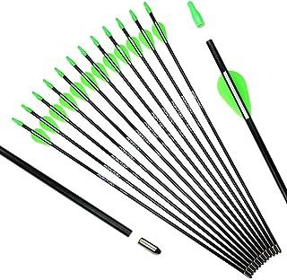 Pointdo Archery Fiberglass Youth Arrows 26 24 Inch with...