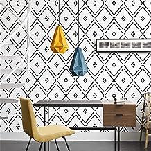 LIKE SHOP Rolo de papel de parede, estilo europeu, esculpido, papel de parede em relevo de 0,5 m (L) x 10 m (C) Papel de p...