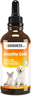 Fur Goodness Sake Kennel Cough Medicine for Dogs - Organic Dog Cough Medicine for Colds & Allergies - Natural Kennel Cough Treatment with Mullein Leaf & Elderberry