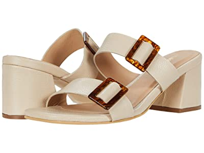 KAANAS Syros Double-Band Heel with Buckle (Natural) Women