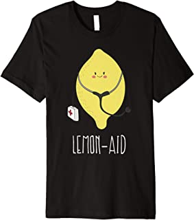 Lemon-aid - Funny Cute Lemonade     Premium T-Shirt