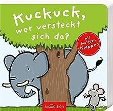 Kuckuck, wer versteckt sich da?: mit großen Klappen