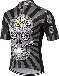 Weimostar Men's Cycling Jersey Mountain Bike Jerseys for Men Bicycle Shirt Tops Clothing
