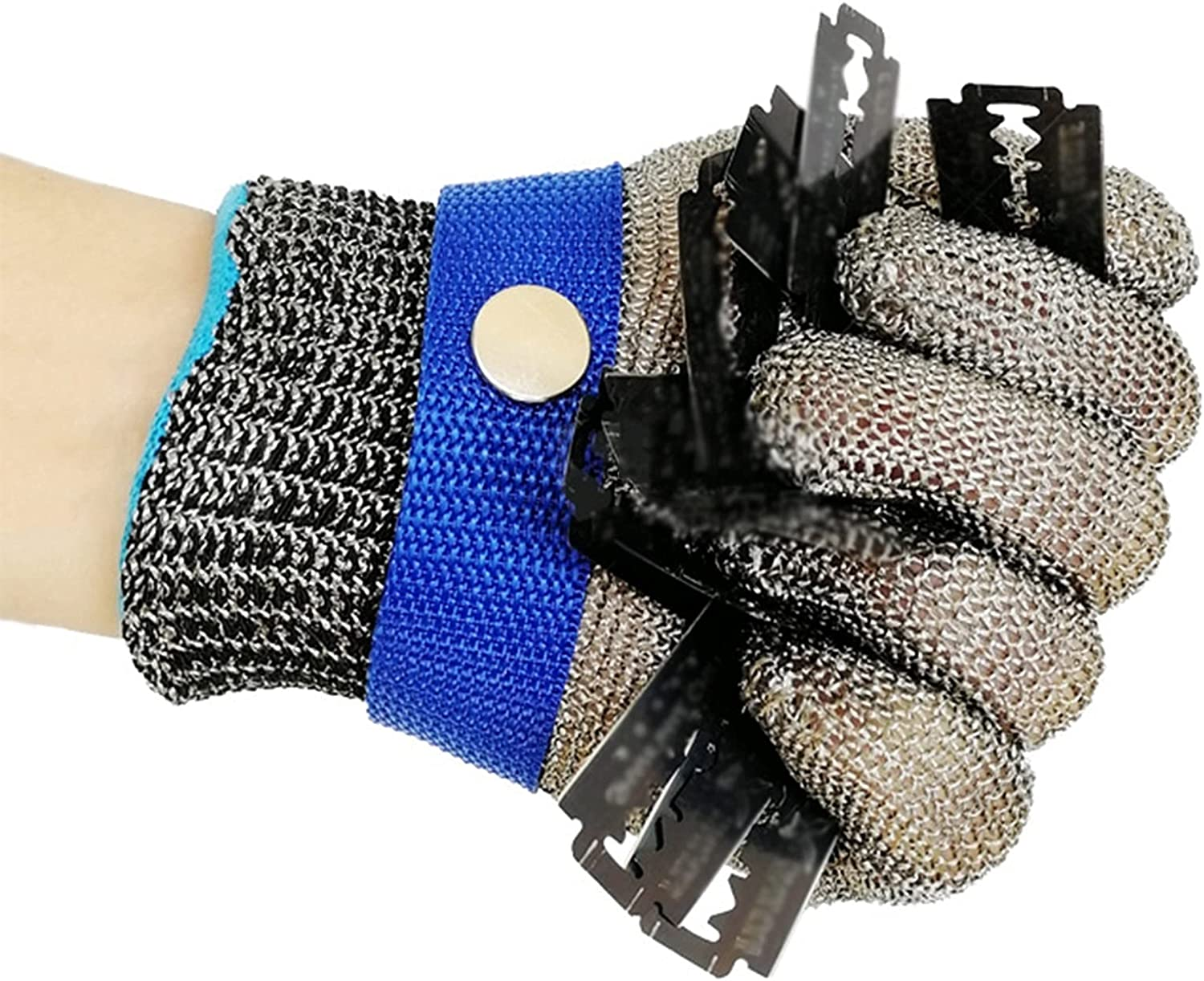 Anti Cut Ranking TOP4 San Francisco Mall Glove Resistant Gloves 2pcs - Mesh Steel Stainless