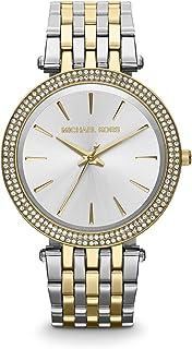 ساعة مايكل كورس MK3215 للنساء - ساعة انالوج ستانلس ستيل , اللون: متعدد الالوان