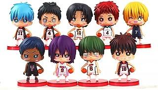 6.5cm 9pcs/lot anime kuroko no basket tetsuya midorima shintaro kise ryota kagami taiga aomine daiki pvc action figure Toy
