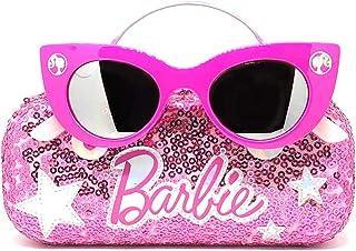 Barbie Girl's Cat Eye Sunglasses and Handled Hard Case Set