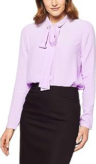Oxford Women's Poppy Neck Tie Blouse