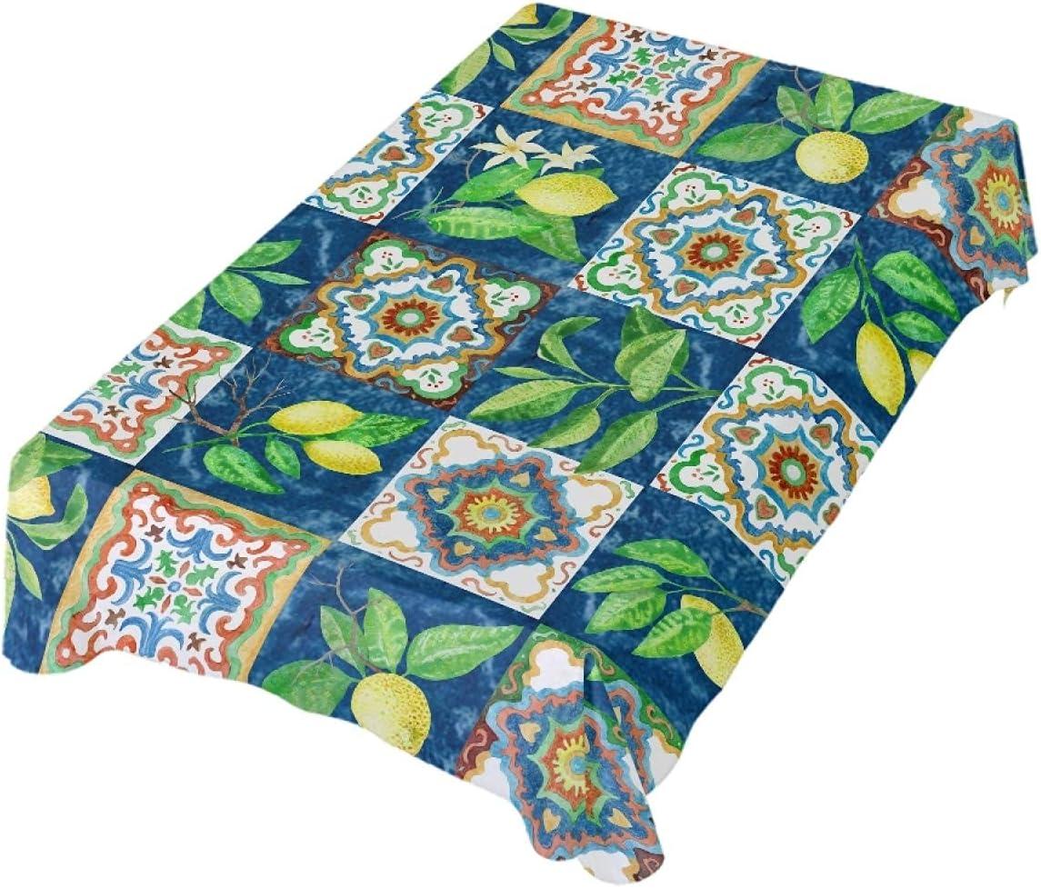 Romanti All items in the store Rectangle Tablecloth Award-winning store Sicilia Mediterranean Ceramic Yello