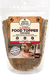 Brutus & Barnaby Dog Food Toppers for Picky Eaters - All Natural, Vegan Sweet Potato Kibble Topper, Delicious Meal Toppers for Dogs, Nutrient Packed Dog Food Topper with Single Raw Ingredient
