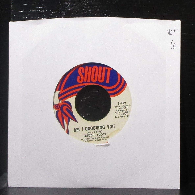 Freddie Scott - Am I Grooving You / Never You Mind - 7
