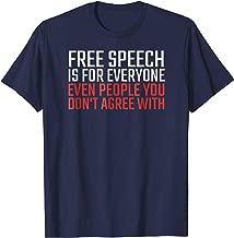 Best free speech shirt Reviews