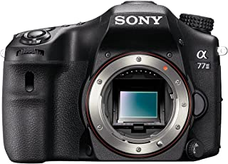 Sony Alpha ILCA77-M2 - Cámara réflex Digital de 24.3 MP (Pantalla 3 estabilizador vídeo Full HD WiFi) Negro - Solo Cuerpo