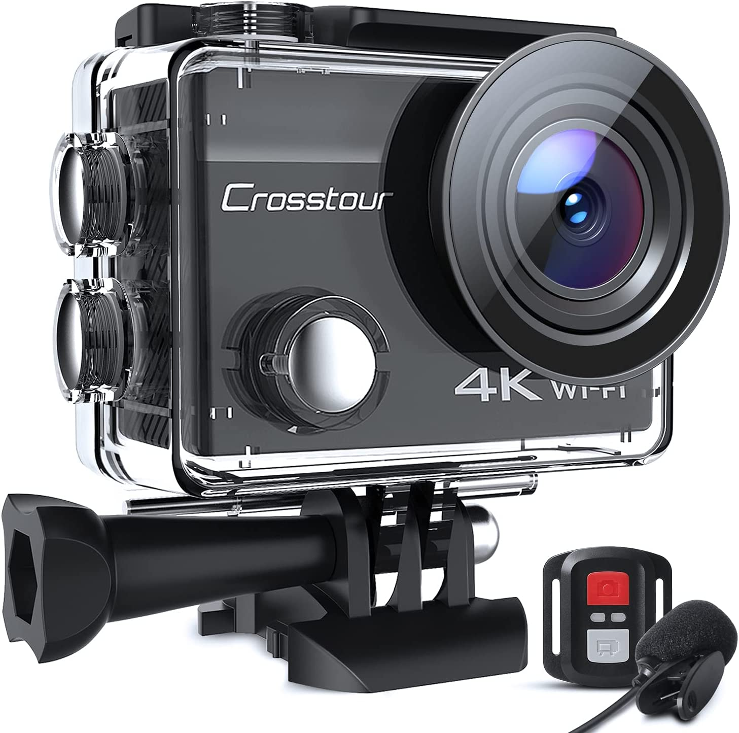 Action Long Beach Mall Camera Ranking TOP2 4K Waterproof EIS Wi with External Microphone Cam