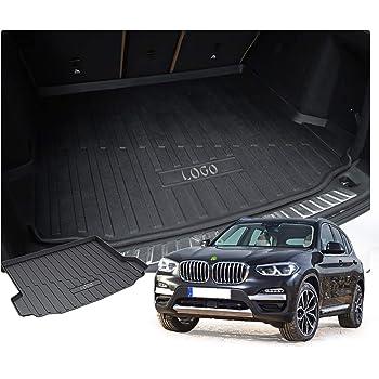 Kofferraumwanne Kofferraummatte für BMW X3 Antirutsch Gummi Allwetter Schwarz