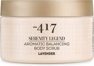-417 Aromatic Hygiene Hands and Body Scrub Lavender � Precious Mineral Complex � Dead Sea Minerals- Aromatic Vegan Body Exfoliator for All Skin Types Serenity Legend Collection