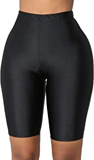 Women's Active Biker Yoga Shorts Leggings Stretch Bodycon Leggings Hot Shorts