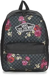 mochilas vans cuadros rosas y blancos