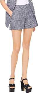 MICHAEL Michael Kors Women's Linen Gingham Shorts