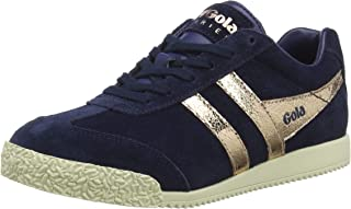 gold gola trainers