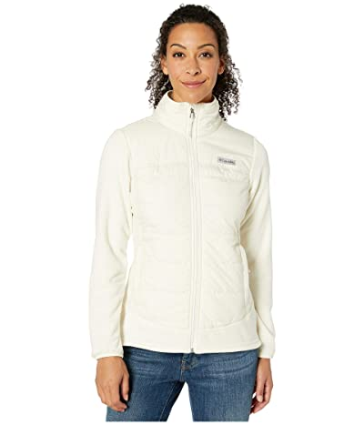 Columbia Basin Buttetm Fleece Full Zip (Chalk) Women
