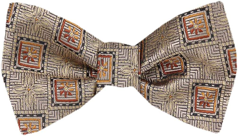 FBTT-12238 - Mens Taupe Self Tie Bow Tie XL for Men Big and Tall Bows