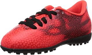 Boys adidas F5 Red Black Performance Astro Turf Soccer Football Boots Trainers