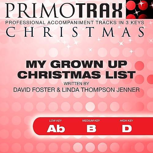 Jane monheit grown up christmas list