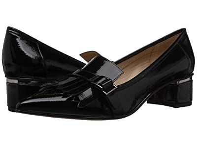 Franco Sarto Grenoble (Black Crinkle Patent) Women