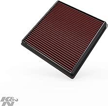 K&N engine air filter, washable and reusable:  2011-2018 Dodge/Chrysler/Fiat V6 (Journey, Avenger, JCUV, 200, Freemont) 33-2470
