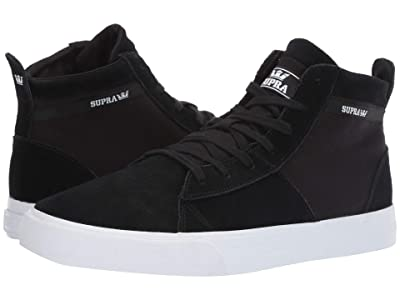 Supra Stacks Mid (Black/Black/White Multi Snake) Men